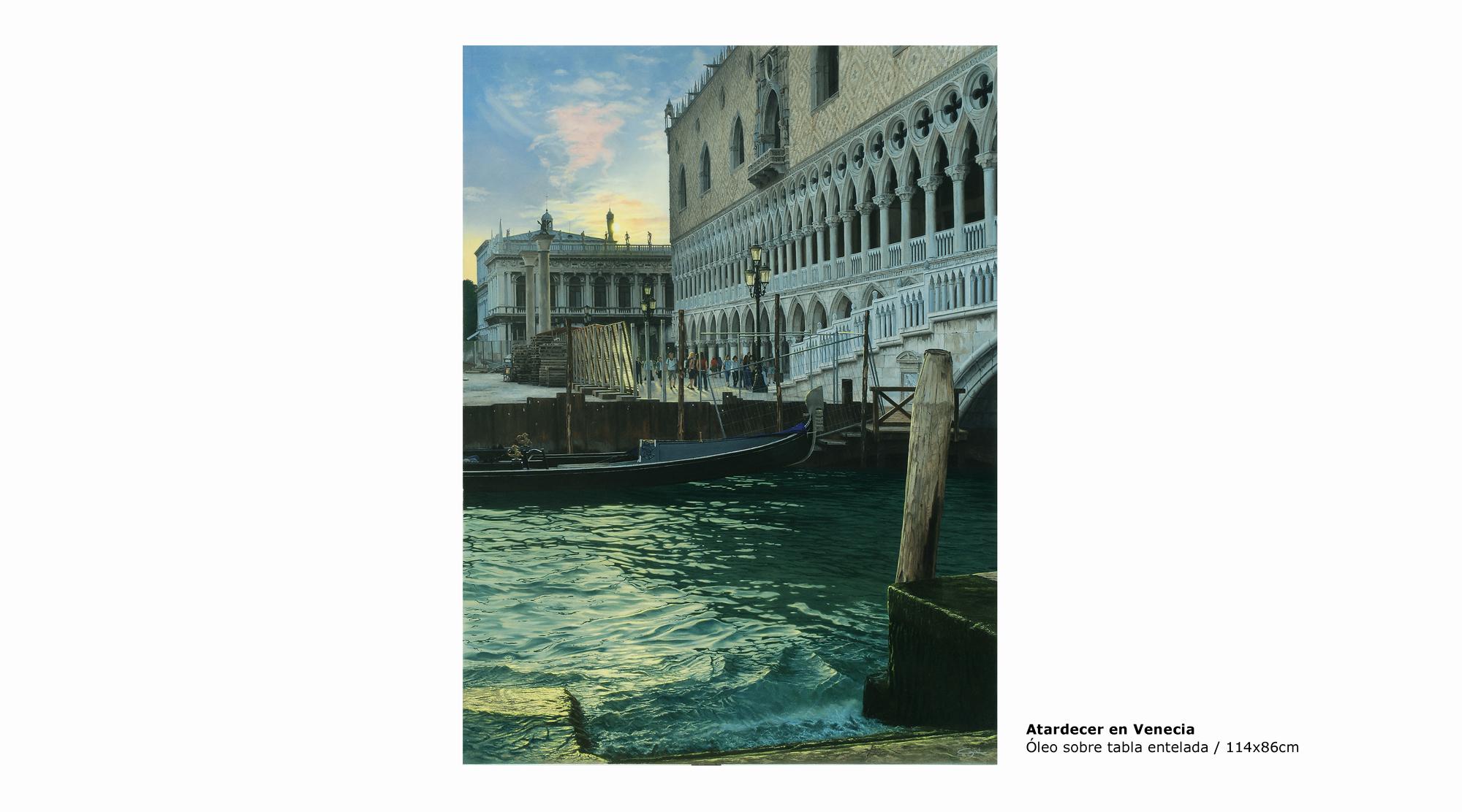 Detalle Atardecer en Venecia